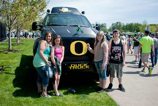 Oregon Spring Game 2013 59 Photo by Tristan Fortsch