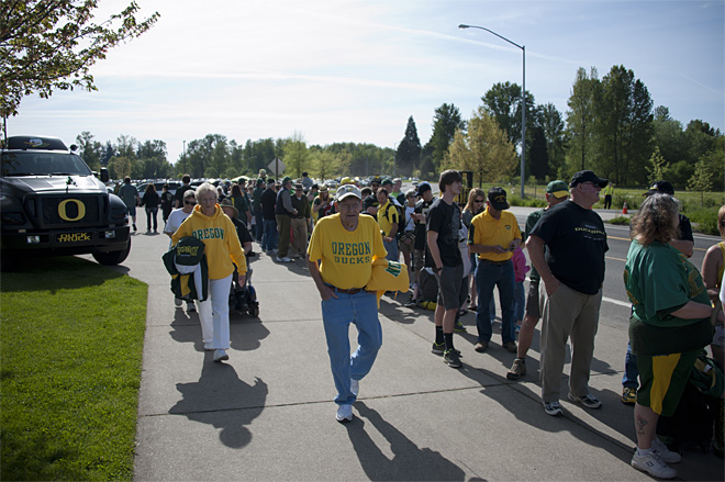 Oregon Spring Game 2013_Photo by Tristan Fortsch - KVAL News 02