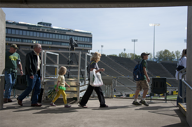 Oregon Spring Game 2013_Photo by Tristan Fortsch - KVAL News 04
