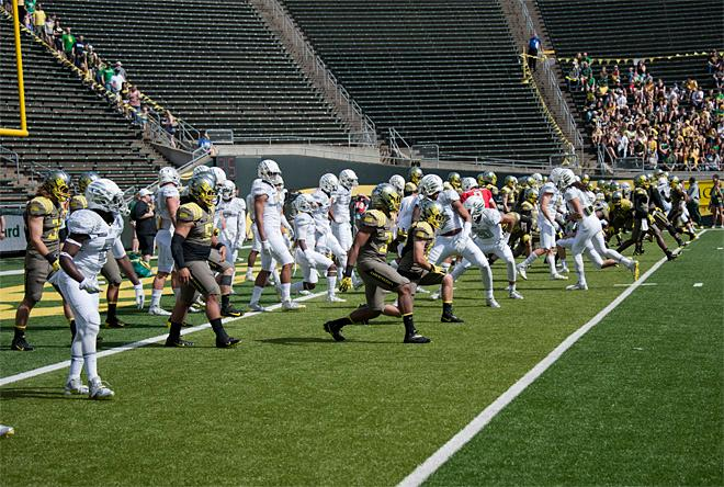 Oregon Spring Game 2013_Photo by Tristan Fortsch - KVAL News 06