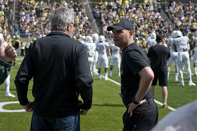 Oregon Spring Game 2013_Photo by Tristan Fortsch - KVAL News 07