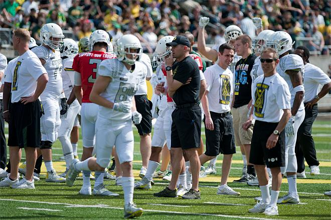 Oregon Spring Game 2013_Photo by Tristan Fortsch - KVAL News 10