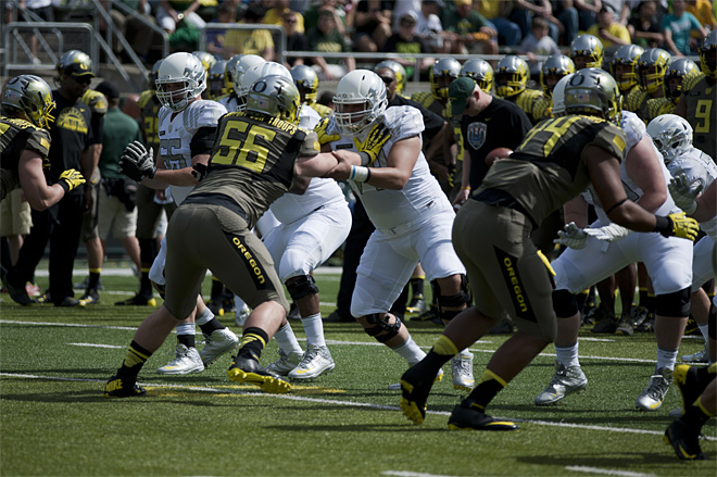 Oregon Spring Game 2013_Photo by Tristan Fortsch - KVAL News 11
