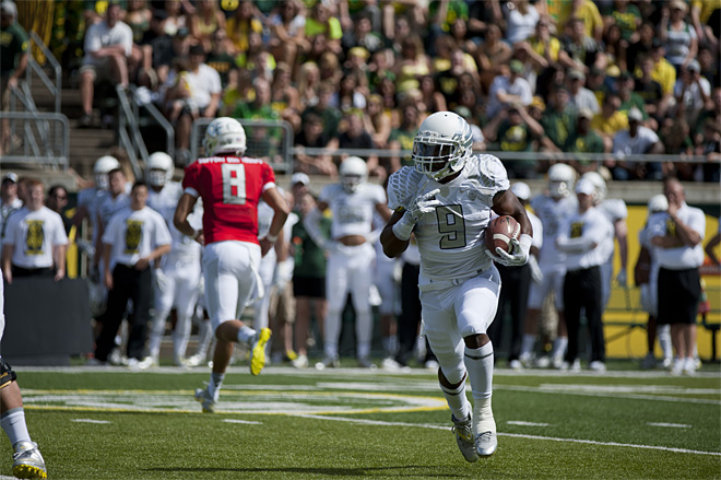 Oregon Spring Game 2013_Photo by Tristan Fortsch - KVAL News 14
