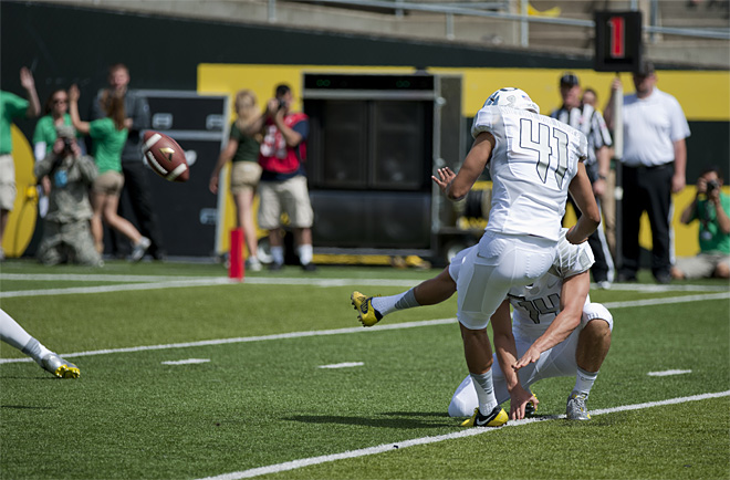 Oregon Spring Game 2013_Photo by Tristan Fortsch - KVAL News 16