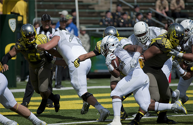 Oregon Spring Game 2013_Photo by Tristan Fortsch - KVAL News 19