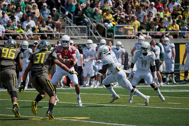 Oregon Spring Game 2013_Photo by Tristan Fortsch - KVAL News 21