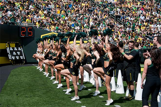 Oregon Spring Game 2013_Photo by Tristan Fortsch - KVAL News 25