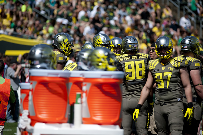 Oregon Spring Game 2013_Photo by Tristan Fortsch - KVAL News 30