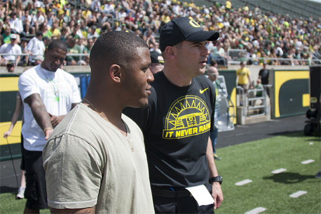 Oregon Spring Game 2013_Photo by Tristan Fortsch - KVAL News 36