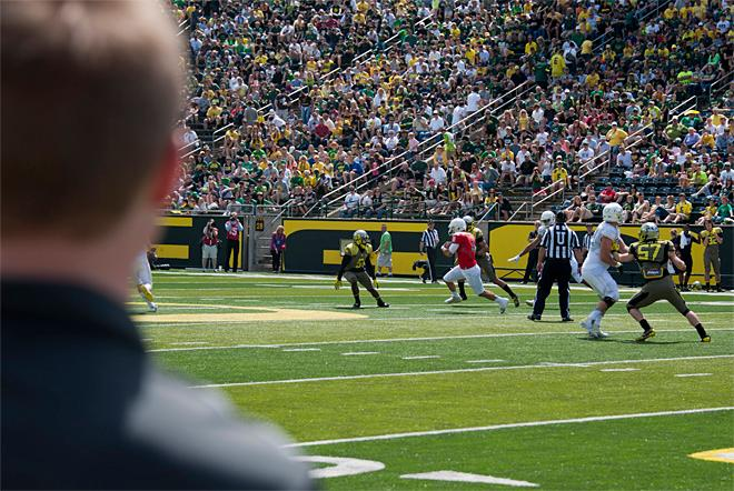 Oregon Spring Game 2013_Photo by Tristan Fortsch - KVAL News 50