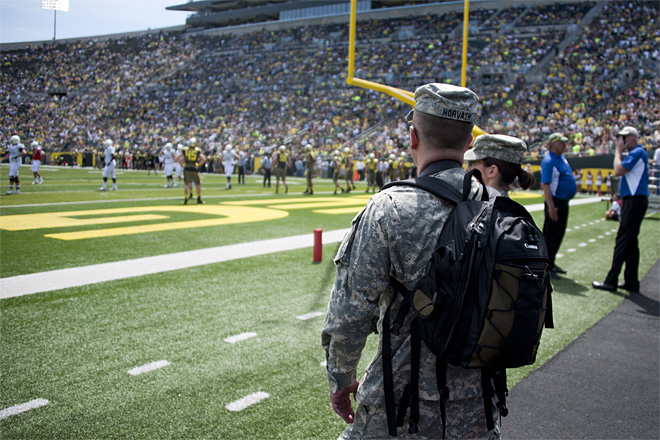 Oregon Spring Game 2013_Photo by Tristan Fortsch - KVAL News 54