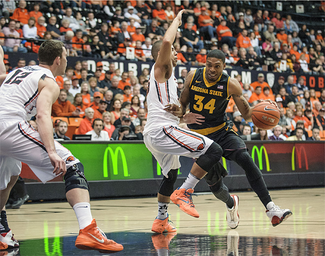 Arizona State Oregon State Basketball