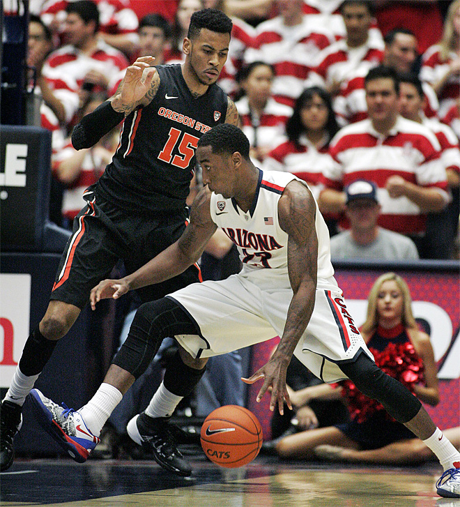 Oregon State loses 76-54 to No. 2 Arizona