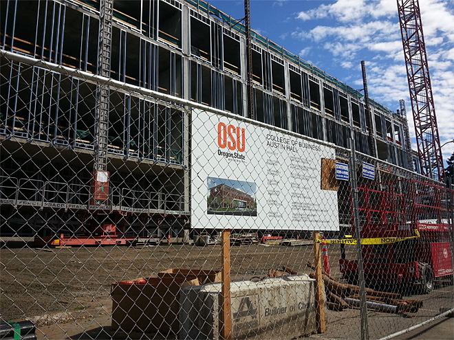 Busy Beavers: $300M in new construction for OSU campus