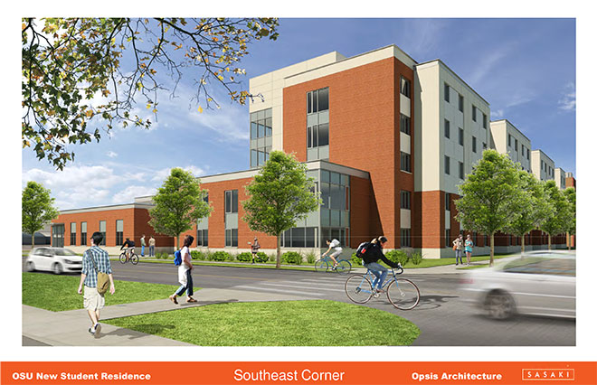 Oregon State proposes new dorm (4)
