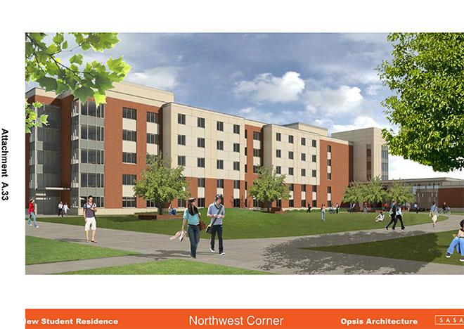 OSU wants to build $30M dorm on campus parking lot