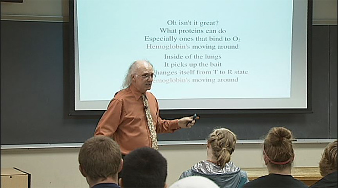 Oregon State singing professor
