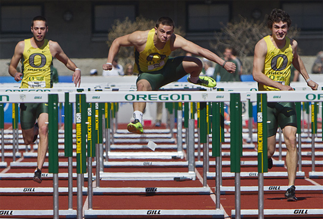 Oregon Track and Field Preview at Hayward Field - Photo by Alan Sylvestre for Oregon News Lab