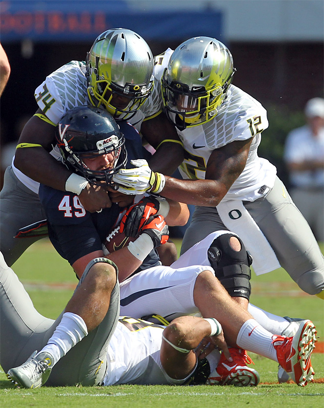 Duck linebacker Cassell cited for DUI