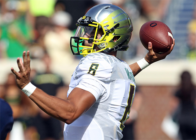 Oregon Virginia Football