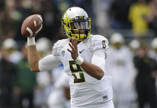 Oregon Washington Football