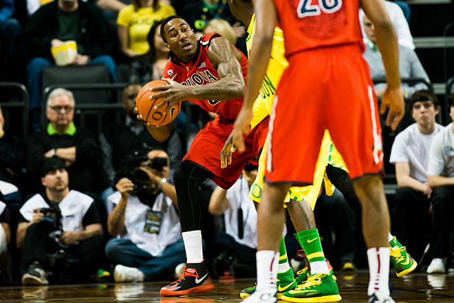 Oregon beats Arizona 64-57 on senior day - Photo by Andrew Seng_University of Oregon 02