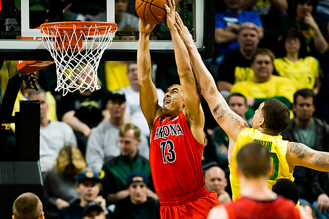 Oregon beats Arizona 64-57 on senior day - Photo by Andrew Seng_University of Oregon 03