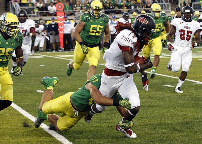 Arkansas St Oregon Football