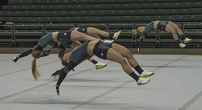 Ducks win 24th consecutive acrobatics competition