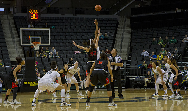 Oregon women beat Cal State Northridge 96-61 _ 02