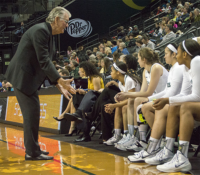 Oregon women beat Utah 93-71 - 23