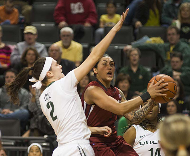 Oregon women take 82-66 victory over Washington State 03