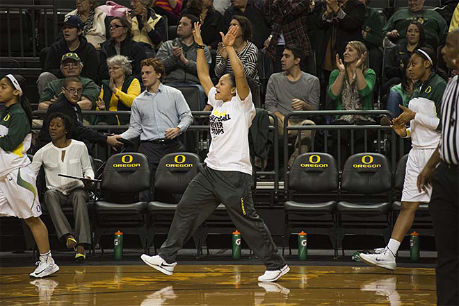 Oregon women take 82-66 victory over Washington State 10