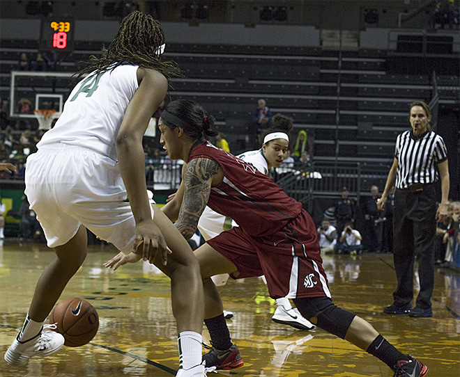 Oregon women take 82-66 victory over Washington State 13