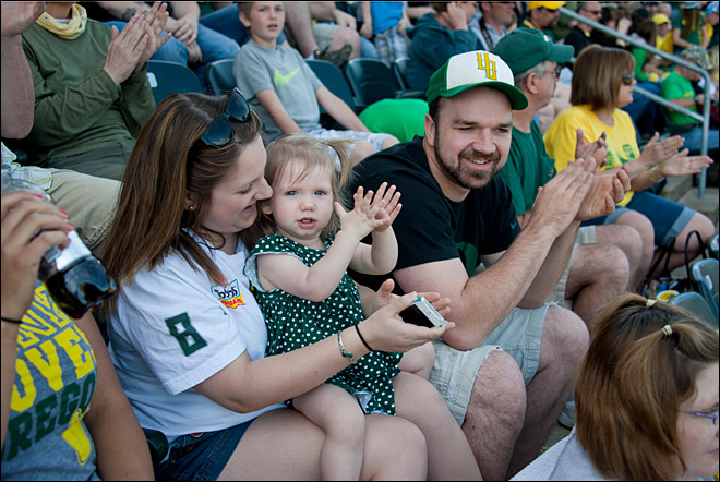 Oregon Spring Game 2013 62 Photo by Tristan Fortsch