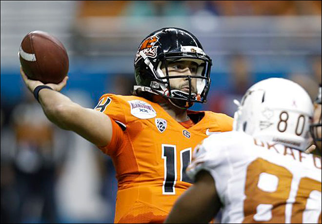 Beavers open camp with quarterback competition