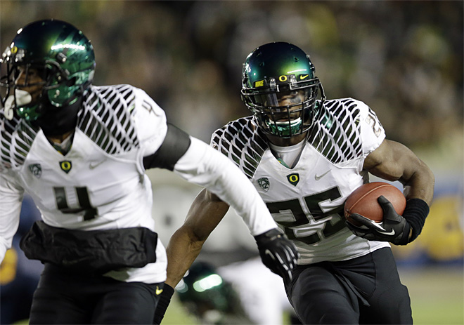 Oregon California Football