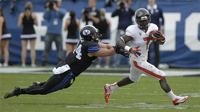 Oregon St BYU Football