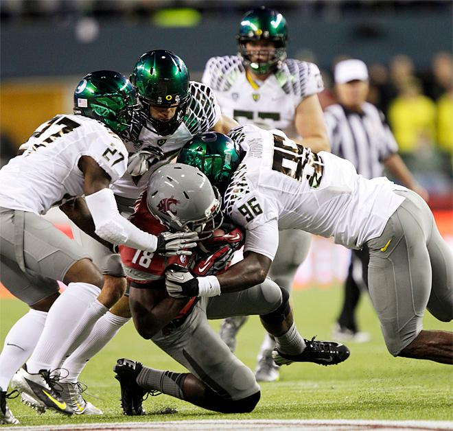 Oregon vs Washington State in Seattle