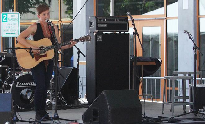 Out/Loud Festival draws crowd downtown