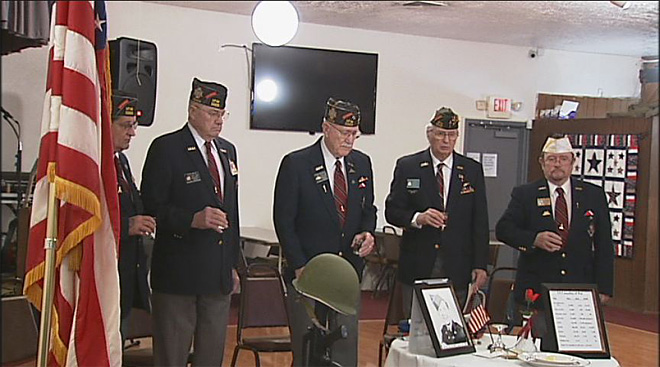 POW/MIA Empty Chair Ceremony at the Springfield VFW