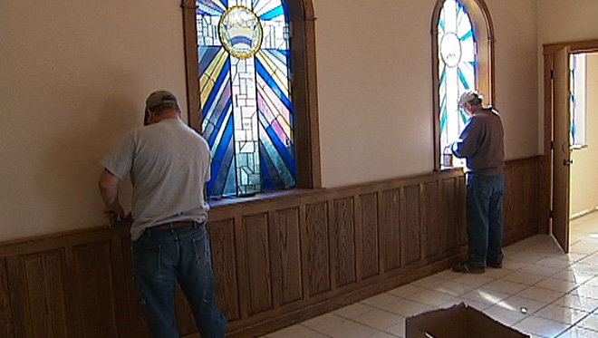 Bombed Prayer Chapel prepares to re-open
