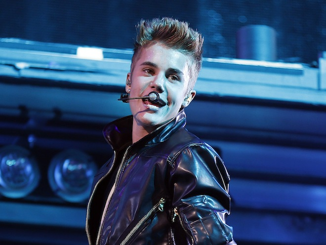 Justin Bieber at the MGM Grand Garden Arena