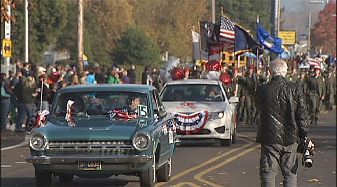 Veterans Day Parade: 'Because of them we have our freedom'
