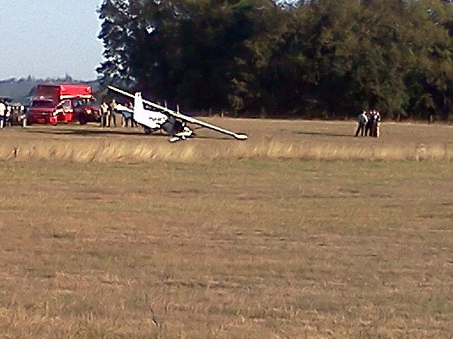 Plane crash southwest of Eugene
