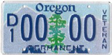 Tree version of the disabled veteran plate