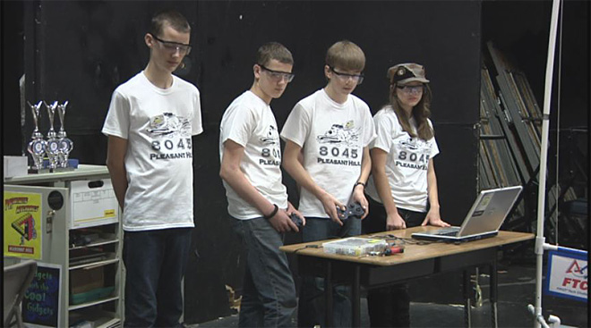 Pleasant Hill Robotics Team 2014
