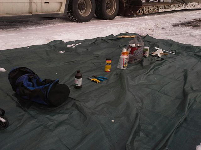 Police find mobile meth lab during traffic stop