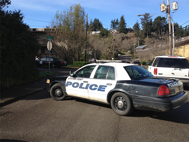 Police investigate death in Coos Bay 01